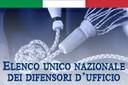 Elenco Unico Nazionale Difese D'Ufficio. Proroga del termine.