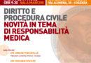 FORMAZIONE PERMANENTE 2016. DIRITTO E PROCEDURA CIVILE NOVITÀ IN TEMA DI RESPONSABILITÀ MEDICA