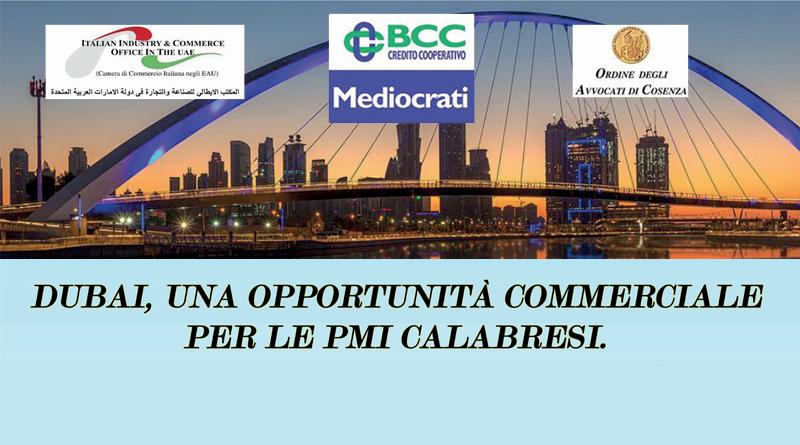 Convegno del 14 luglio 2017 BCC-Dubai