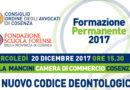 Formazione Permanente del 20 dicembre 2017