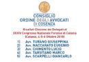 Elezione dei Delegati  al XXXIV Congresso Nazionale Forense di Catania