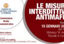 Le Misure Interdittive Antimafia – 15 gennaio 2019