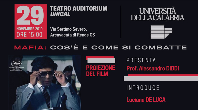 Convegno Unical 29 novembre 2019
