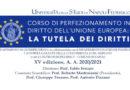 """Università degli Studi di Napoli Federico II -Corso di perfezionamento in """"Diritto dell'Unione europea: la tutela dei diritti"""""""
