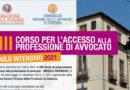 XIII Corso Intensivo per l'accesso alla professione di Avvocato